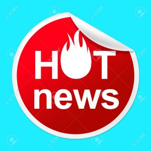 Hot News Sticker Represents Media Player And Best