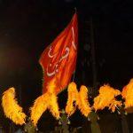 کانال هیئت زنجیر زنی شهرستان عباس آباد