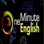 کانال one minute english