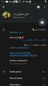 کانال تلگرام ذهن خاموش