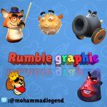 کانال تلگرام رامبل گرافیک