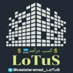 کانال تلگرام کسب درآمد لوتوس